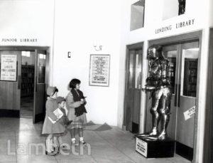 MINET LIBRARY, KNATCHBULL ROAD, NORTH BRIXTON