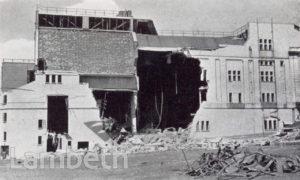 STREATHAM HILL THEATRE, STREATHAM CENTRAL : BOMB DAMAGE