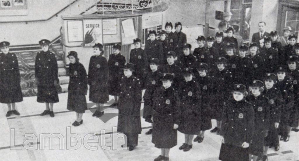 WOMEN OF THE N.F.S.,STREATHAM CENTRAL : WORLD WAR II