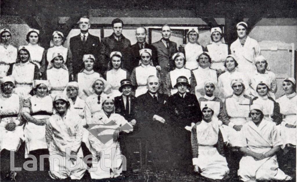 STREATHAM HILL FIRST-AID POST ,WORLD WAR II
