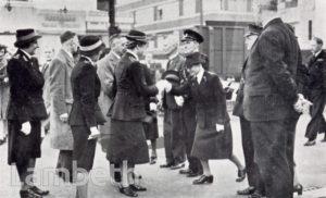 STREATHAM BATHS FIRST-AID POST ,WORLD WAR II