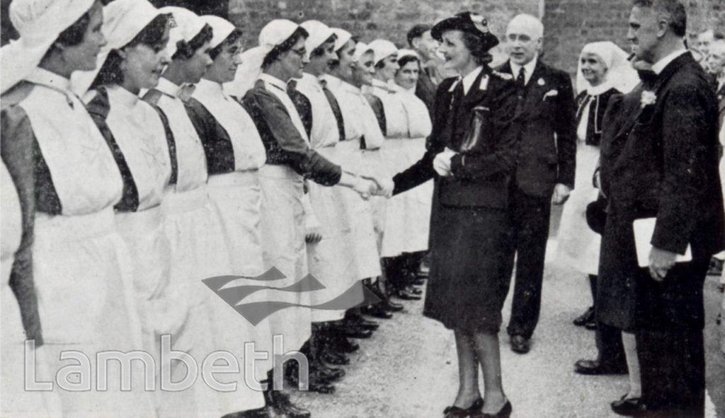FIRST-AID POST NO.5, STREATHAM HILL,WORLD WAR II