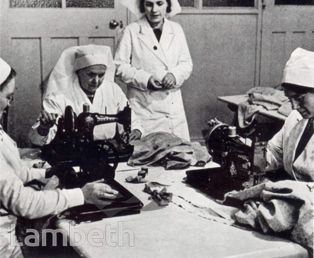 HOSPITAL SUPPLY DEPOT, STREATHAM HILL,WORLD WAR II