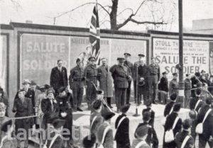 SALUTE THE SOLDIER WEEK, STREATHAM CENTRAL, WORLD WAR II