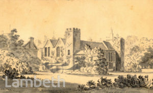 LAMBETH PALACE, LAMBETH