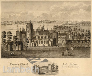 ST MARY'S CHURCH AND LAMBETH PALACE, LAMBETH