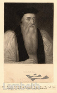 THOMAS CRANMER, LAMBETH PALACE, LAMBETH