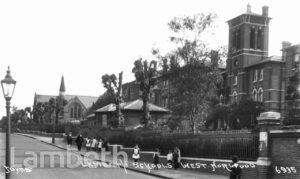LAMBETH SCHOOLS, ELDER ROAD, WEST NORWOOD