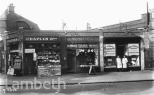CROXTED ROAD, HERNE HILL: SHOPS