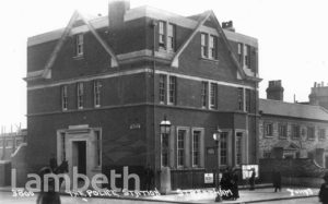 POLICE STATION, STREATHAM HIGH ROAD, STREATHAM CENTRAL