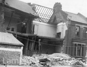 THORPARCH ROAD, SOUTH LAMBETH: WORLD WAR II INCIDENT