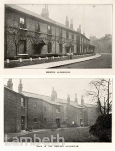 BRIXTON ALMSHOUSES, STOCKWELL PARK ROAD, STOCKWELL