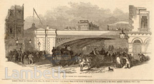 RAILWAY BRIDGE, WESTMINSTER BRIDGE ROAD, LAMBETH