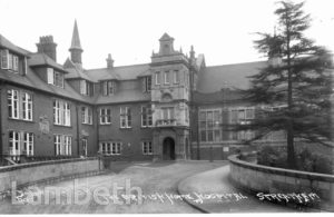BRITISH HOME AND HOSPITAL FOR INCURABLES, CROWN LANE