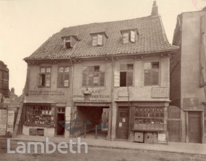 OLD HALL, CHURCH STREET, LAMBETH