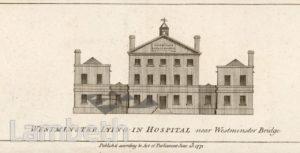 WESTMINSTER LYING IN HOSPITAL, WATERLOO