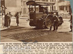 ACRE LANE, BRIXTON CENTRAL: ROADWORKS