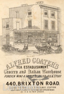 ALFRED GOATER, BRIXTON ROAD, BRIXTON CENTRAL