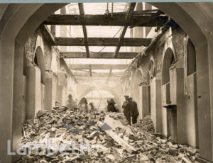 ST THOMAS' HOSPITAL, LAMBETH: WORLD WAR II INCIDENT