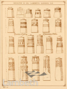 DOULTON POTTERY CATALOGUE, ARCHITECTURAL TERRACOTTA