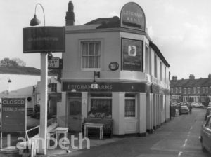 LEIGHAM ARMS, SUNNYHILL ROAD, STREATHAM CENTRAL