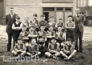 ST ANDREW'S FOOTBALL TEAM, POLWORTH ROAD, STREATHAM COMMON