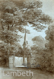 ST LEONARD'S CHURCH, TOOTING BEC GARDENS, STREATHAM CENTRAL