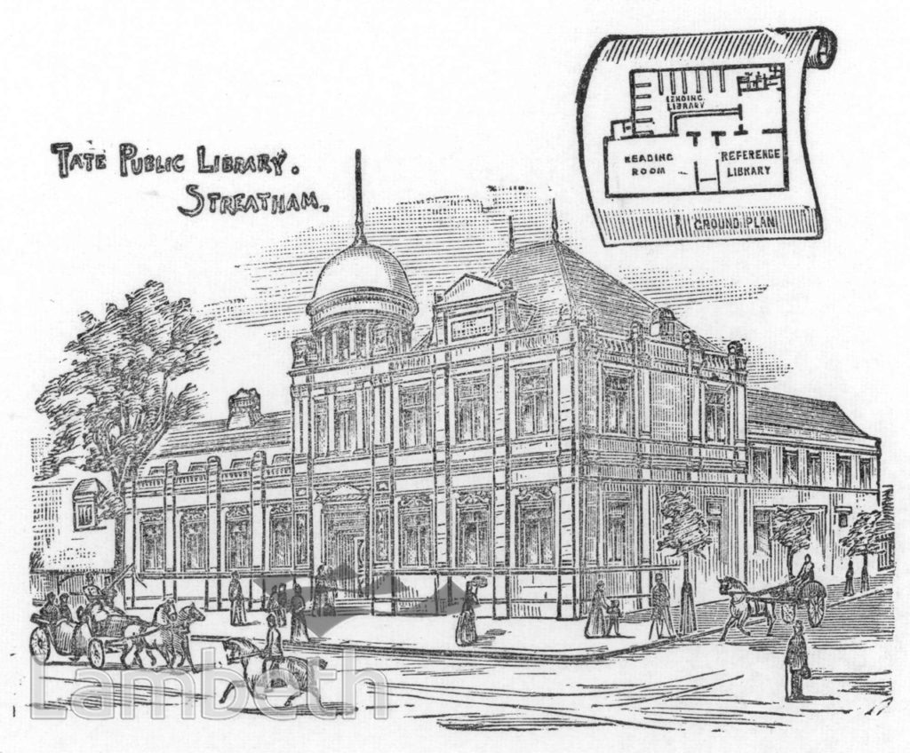 TATE LIBRARY, STREATHAM HIGH ROAD, STREATHAM CENTRAL