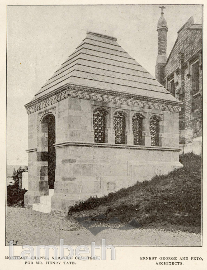 MORTUARY CHAPEL, NORWOOD CEMETERY, WEST NORWOOD