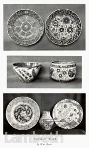 'PERSIAN WARE', DOULTON POTTERY,LAMBETH