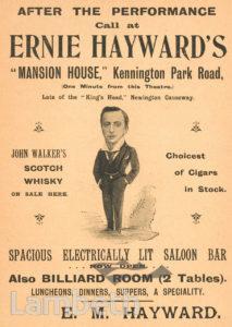 E.M.HAYWARD'S SALOON BAR, KENNINGTON
