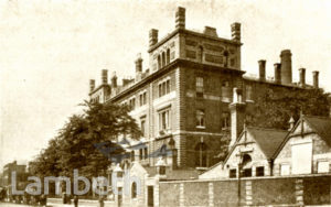 STOCKWELL COLLEGE,  STOCKWELL  ROAD, STOCKWELL