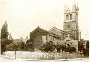 ST JOHN'S CHURCH, ANGELL TOWN, BRIXTON NORTH