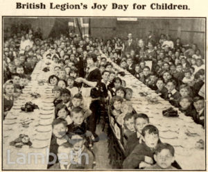 BRITISH LEGION'S JOY DAY, BRIXTON ROAD, BRIXTON NORTH