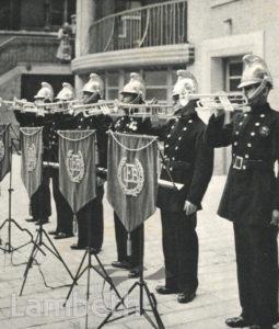 LONDON FIRE BRIGADE HEADQUARTERS, ALBERT EMBANKMENT, LAMBETH