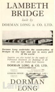DORMAN LONG: ADVERTISEMENT