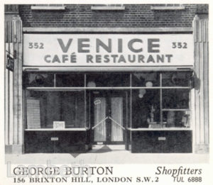 GEORGE BURTON, BRIXTON HILL: ADVERTISEMENT