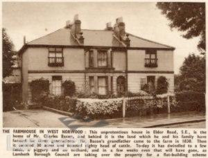 FARM HOUSE, ELDER ROAD, WEST NORWOOD