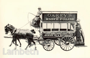 JOHN OAKEY & SONS LTD., LAMBETH: ADVERTISEMENT