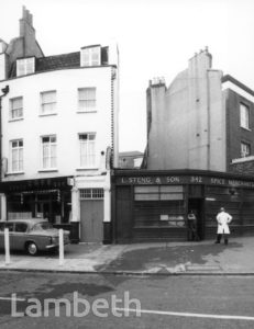 L. STENG & SON, KENNINGTON  ROAD, KENNINGTON