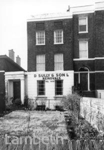 110 BRIXTON ROAD, D. SULLY & SON LTD, BRIXTON NORTH