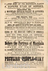 ASTLEY'S ROYAL AMPHITHEATRE, WATERLOO: PLAYBILL (2 OF 2)