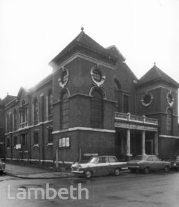 THE PEOPLES CHURCH, GRAFTON SQUARE, CLAPHAM