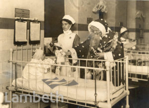 ROYAL WATERLOO HOSPITAL, WATERLOO: FATHER CHRISTMAS