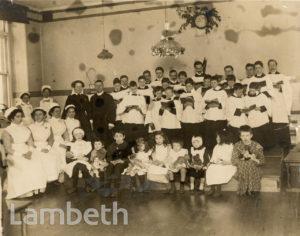 ROYAL WATERLOO HOSPITAL, WATERLOO: CAROL SINGING