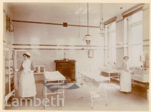 ROYAL WATERLOO HOSPITAL, WATERLOO: THEATRE