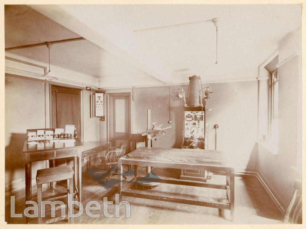 ROYAL WATERLOO HOSPITAL, WATERLOO: EXAMINATION ROOM