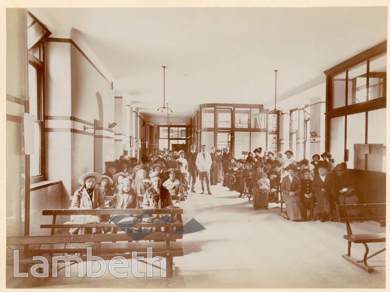 ROYAL WATERLOO HOSPITAL, WATERLOO: WAITING ROOM
