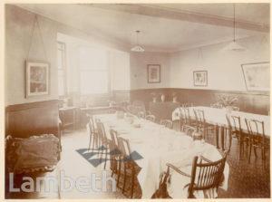ROYAL WATERLOO HOSPITAL, WATERLOO: DINING ROOM