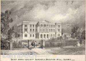 'SAINT ANN'S SOCIETY SCHOOLS', BRIXTON HILL